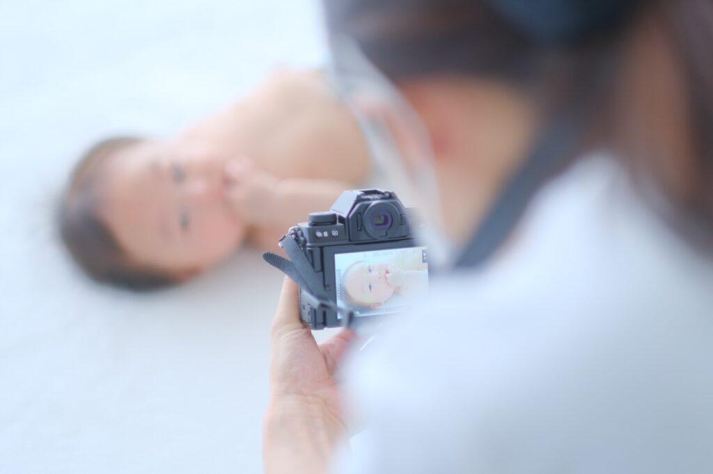 赤ちゃんモデル撮影会